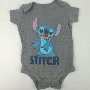 DISNEY Stitch Graphic Onesie Size 6 - 12m
